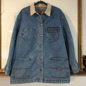 Lauren Jeans Co Safari Outfitters Denim Jacket
